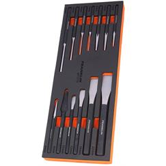 Franklin 13 pce Chisel and Punch Set