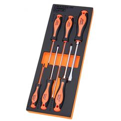 Gear F 6 pce Flat S2 PRO Screwdriver Set