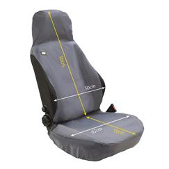 Airbag Compatible Seat Cover Black