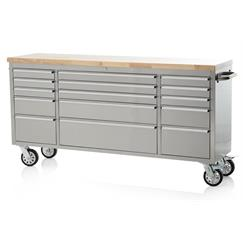 "Franklin 72"" Stainless Steel Tool Chest"
