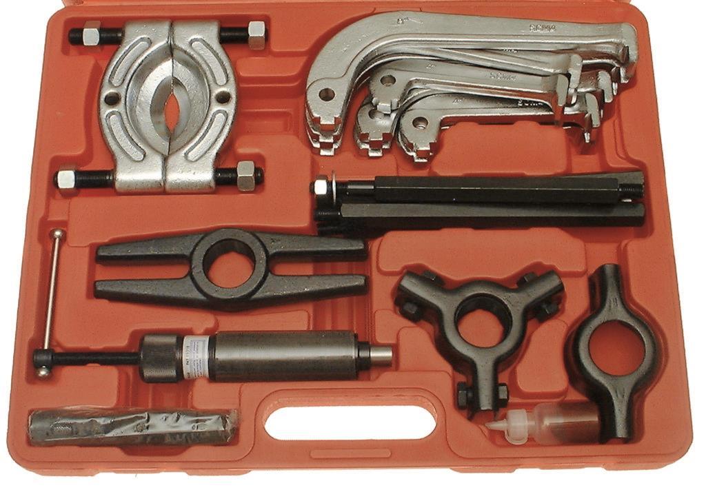 Franklin 25 Pce Hydraulic Puller Set Franklin Tools