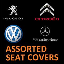 Assorted Seat Covers
