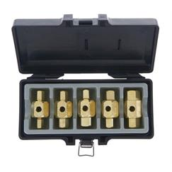 Franklin 5 pce Male Drain Plug Key Set