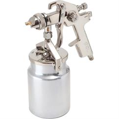 PCL Premium Spray Gun Suction - 1.7mm fluid nozzle - 1 litre aluminium cup - Air consumption - 6.0 cfm