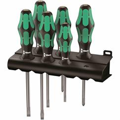 Wera 6pce Lasertip Screwdriver Set