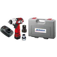 "AC Delco ARI1268-3AEU 10.8v 3/8""dr Impact Wrench Kit 248Nm"