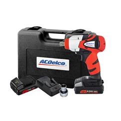 "AC Delco ARI2094-3AEU 18v 38""dr Impact Wrench Kit 400nm"