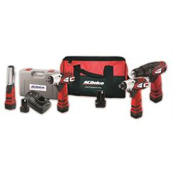 AC Delco 9pce Multi-Kit 10.8v