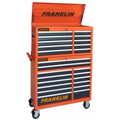 "Franklin 42"" Roll Cab and Top Box Combination"