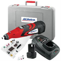 AC Delco ARG1207AEU 10.8v Rotary Tool Smart Repair Kit