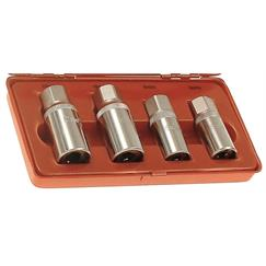 "Franklin 4 pce Stud Extractor Set 1/2"" dr"