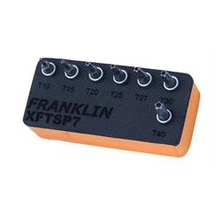 "Franklin 7 pce Star Plus Bit Set 1/4"" dr"